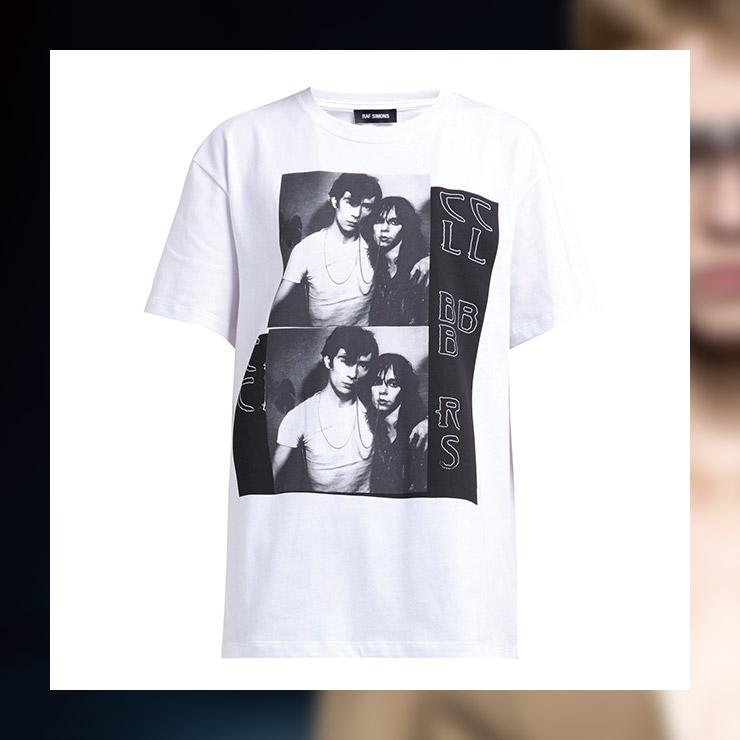 프린트 티셔츠는 30만원대, Raf Simons by Matchesfashion.com