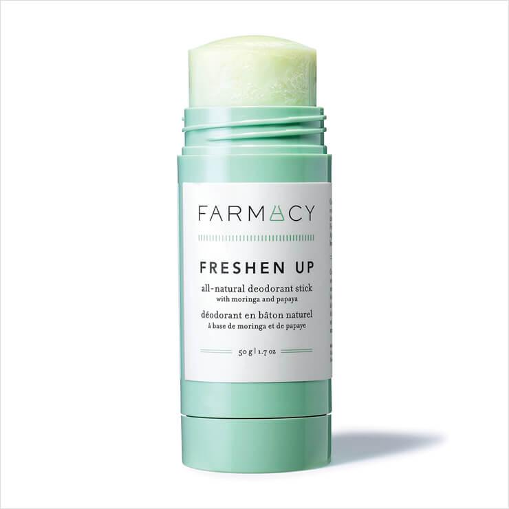 클레이와 티 트리 성분이 땀과 냄새를 제거하는 데오도란트는 프레션 업, 1만9천원, Farmacy.
