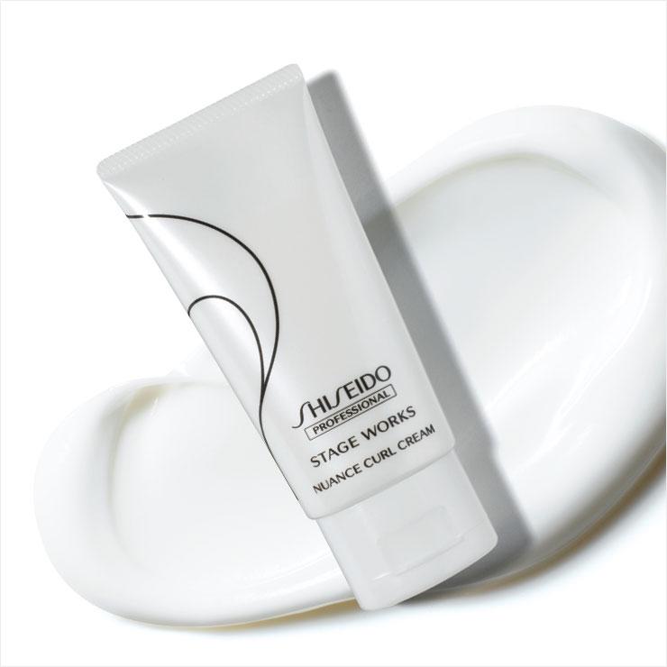 자연스러운 고정력의 뉘앙스 컬 크림, 2만4천원대, Shiseido Professional.