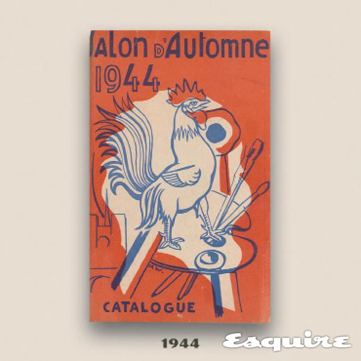 ⓒ Cover of the Catalogue for the 1944 Salon d'Automne / Troyes, musee d'Art moderne, collections nationales Pierre et Denise Levy