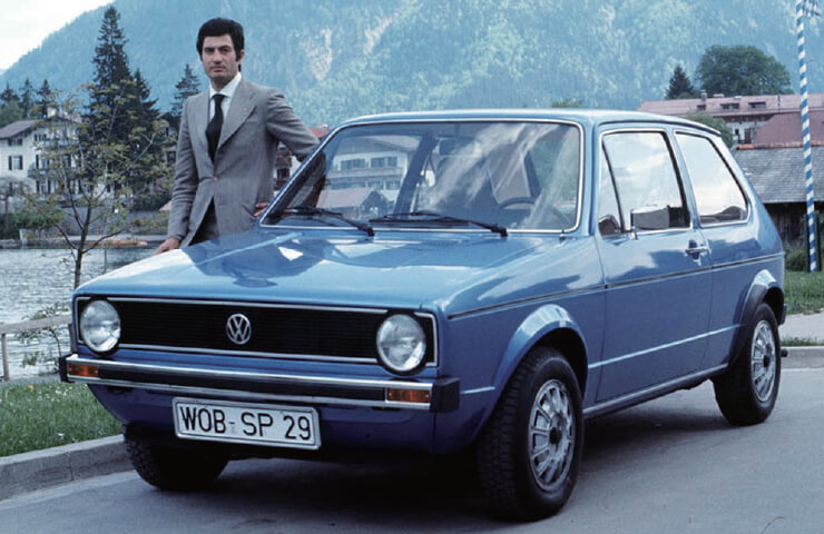 폭스바겐 골프 1세대는 1970년대 초 이탈디자인의 엄청난 성공작이었다.