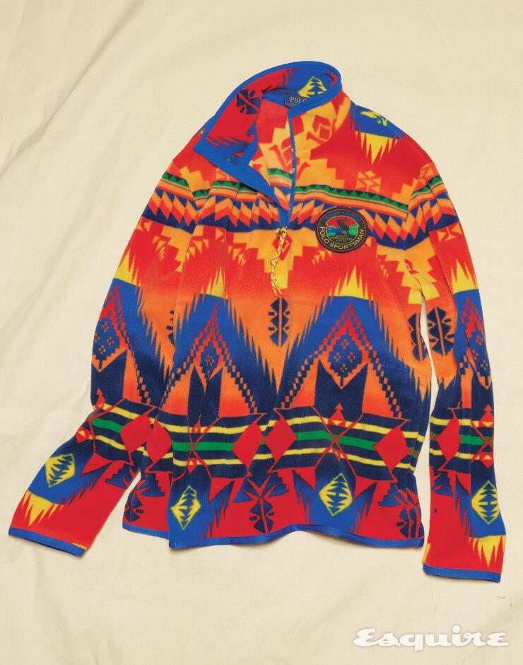 패턴 플리스 재킷 가격 미정 폴로 랄프 로렌.