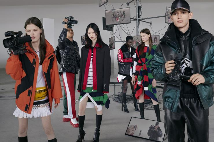 Burberry Autumn Winter 2019 campaign ⓒ Courtesy of Burberry _ Nick Knight