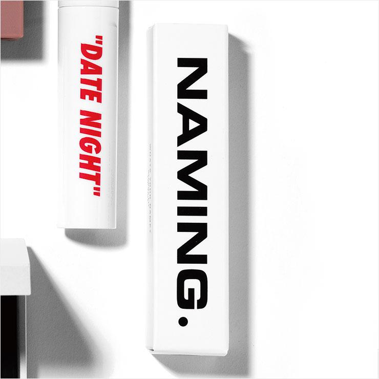 블러리 핏 립 틴트, 1만6천원, Naming.