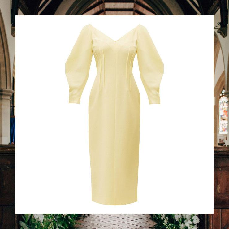 벌룬 실루엣의 드레스는 2백만원대, Emilia Wickstead by Matchesfashion.com.