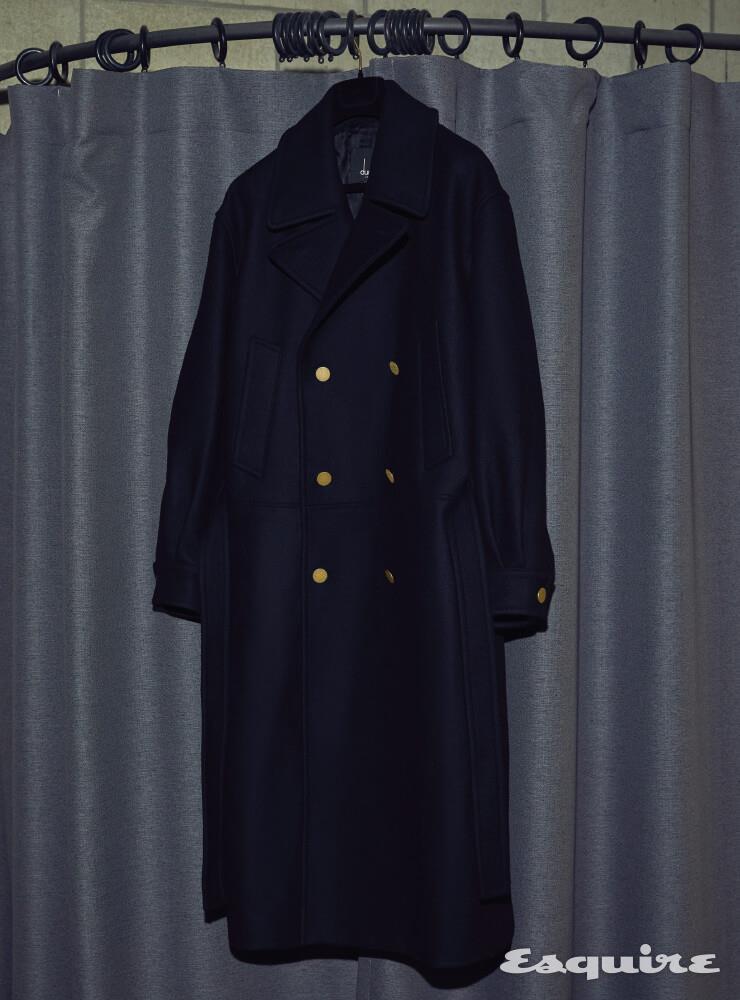 드롭 숄더 코트 가격 미정 던힐.