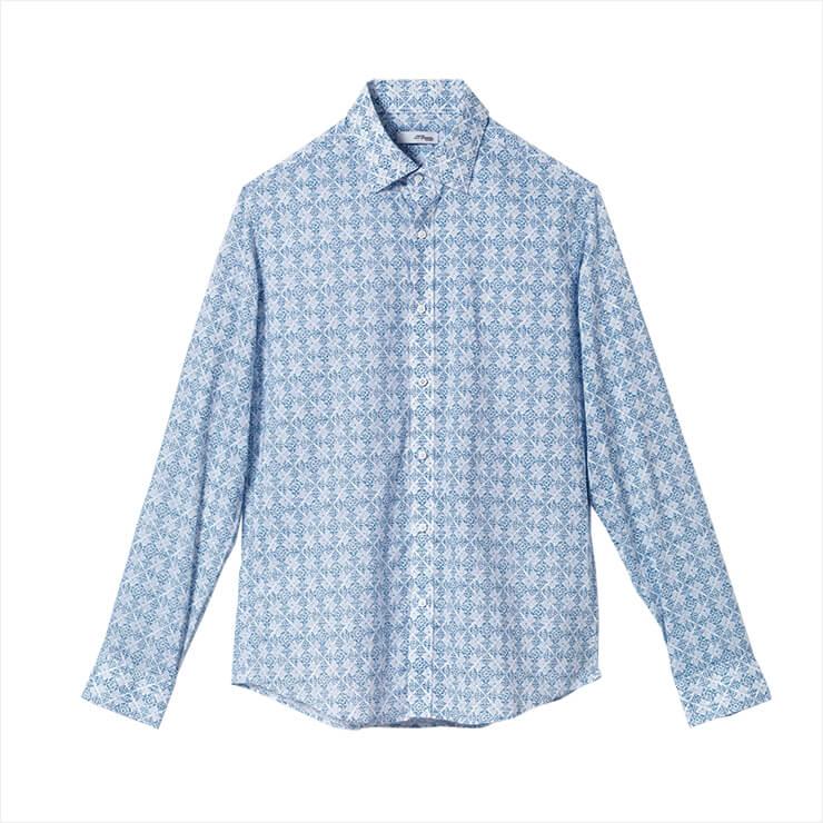 패턴 셔츠는 가격 미정, S.T.Dupont Classic.