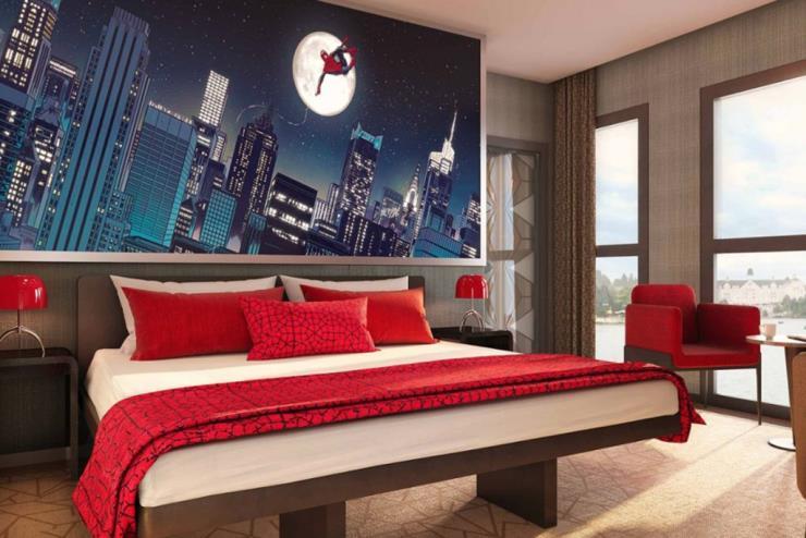 Disney's Hotel New York - The Art of Marvel