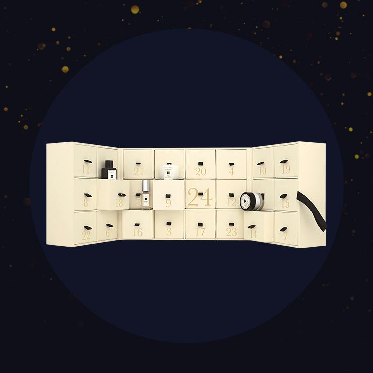 JO MALONE LONDON 어드밴트 캘린더 60만2천원, 미니어처 사이즈로 구성. (일부 매장 판매)