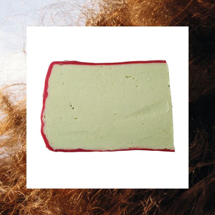 감고 말리면 모발이 부들부들해지는 솔리드 샴푸. 아보카도 코-워시, 2만5천원, Lush.