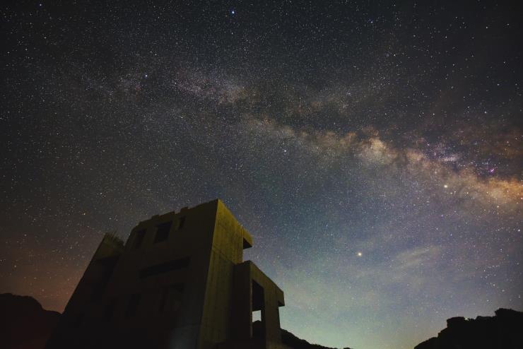 국토정중앙 천문대에서 관측한 은하수