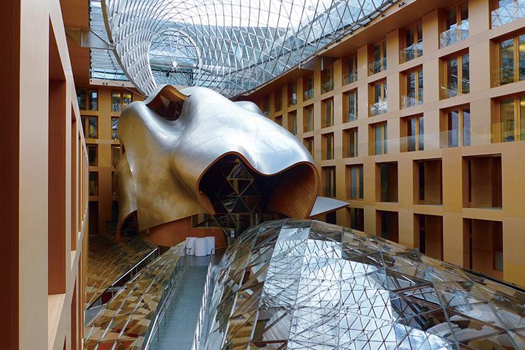 DZ 은행 건물(1999), 베를린