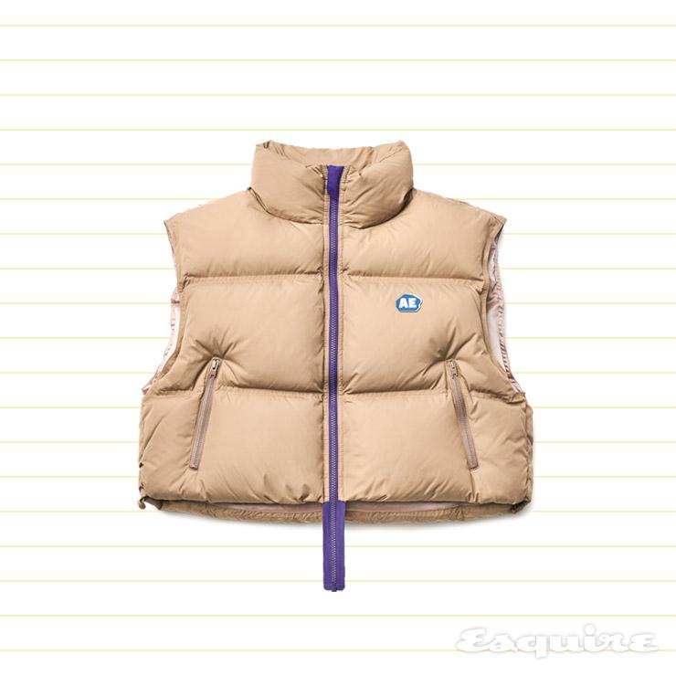 캐멀색 다운 베스트 40만9000원 아더에러 by 비이커.