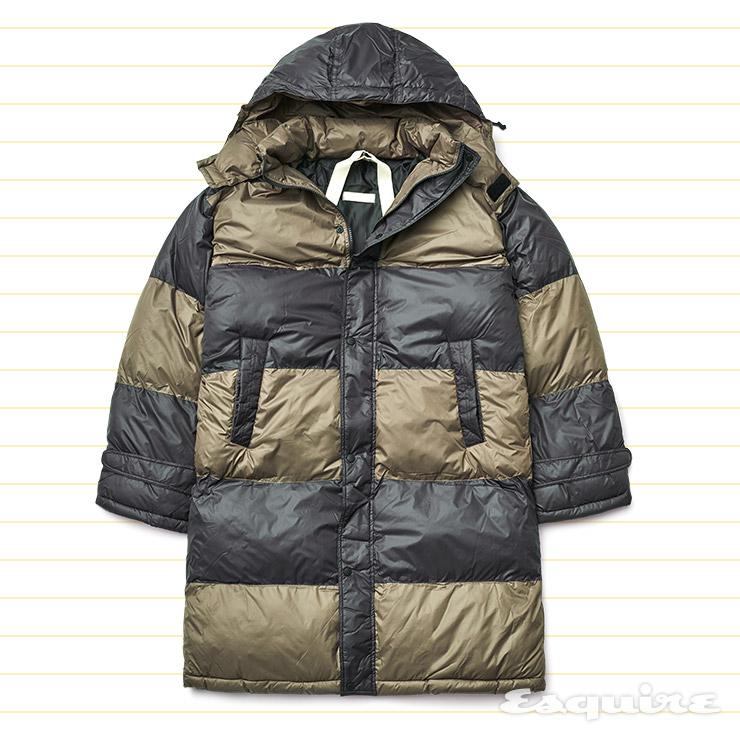 컬러 블록 롱 다운 코트 18만9000원 빅 유니온 by 오쿠스.