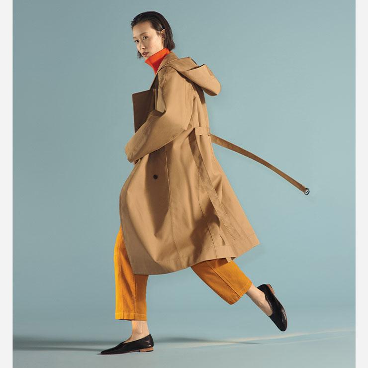 젠더 뉴트럴을 주제로 한 패션 브랜드의 캠페인 비주얼.