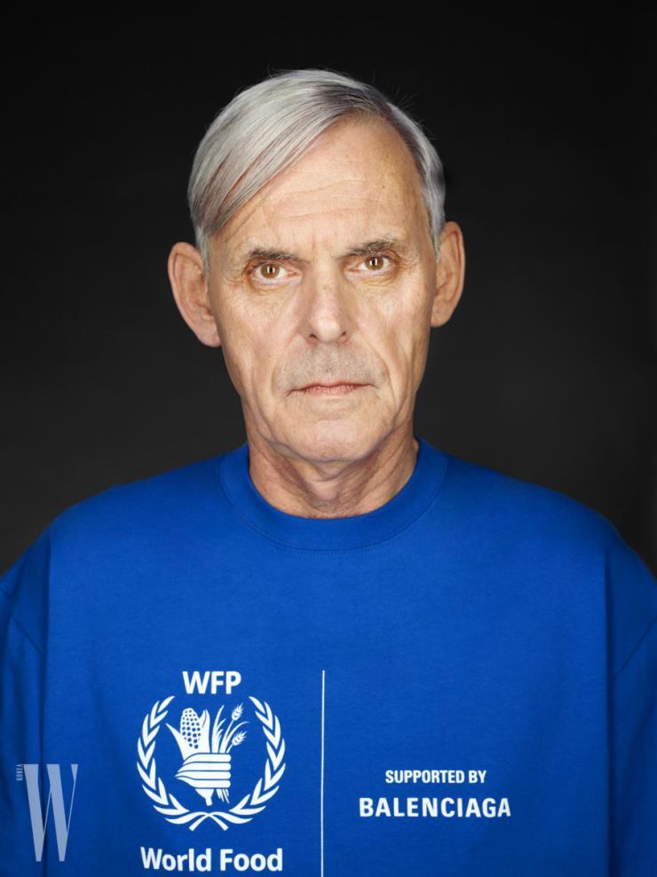 발렌시아가와 WFP의 두 번째 캡슐 컬렉션 캠페인 이미지