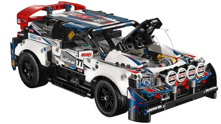 Lego X Top Gear Rally Car