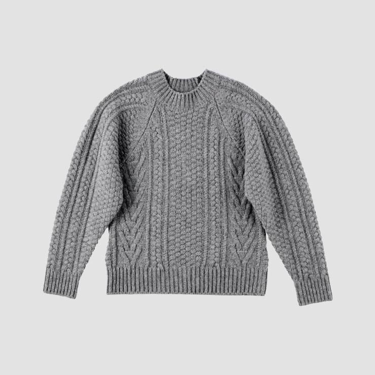 스웨터는 Recto.