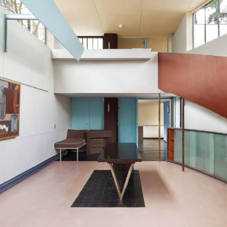 가장 좋아하는 공간과 색, 르 코르뷔지에의 빌라 라로슈.