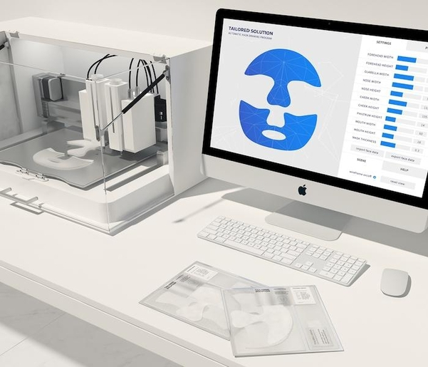 아모레 퍼시픽의 '3D 마스크팩'