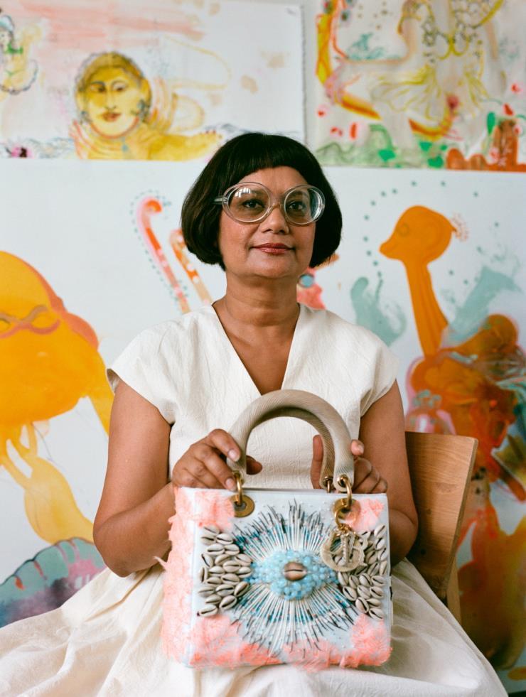 DIOR LADY ART #4 - Rina Banerjee