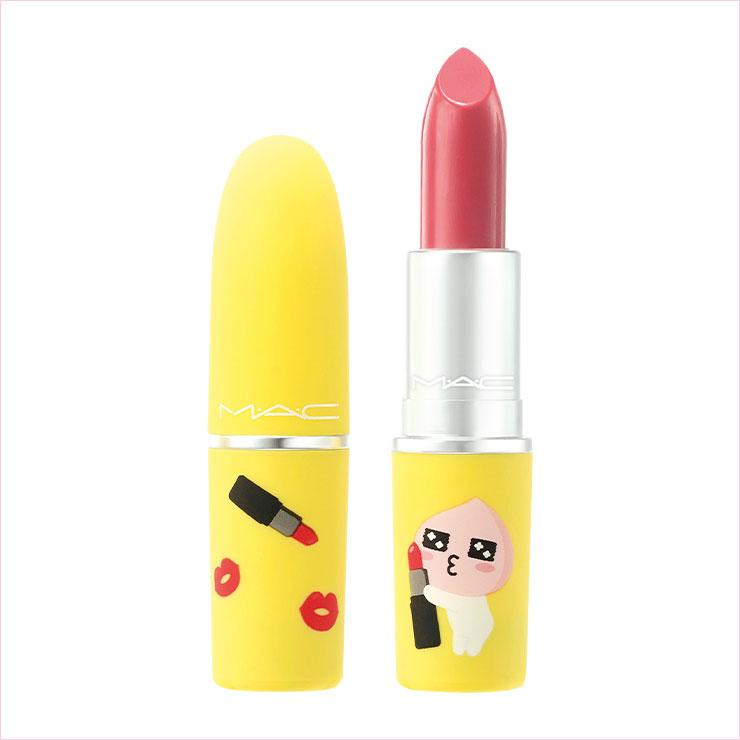 맥x카카오프렌즈 러브 립스 컬렉션 #씨쉬어x어피치 3만1천원대.
