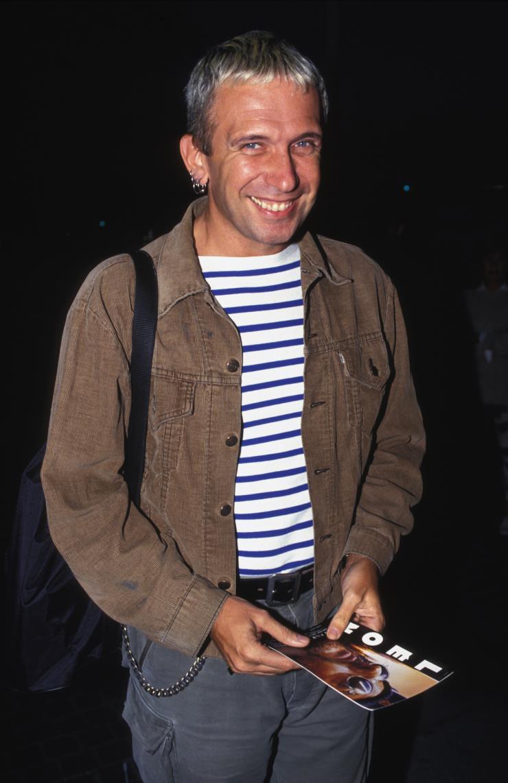 영화 〈레옹〉 시사회에 참석한 장 폴 고티에. 1994년 9월, 프랑스파리