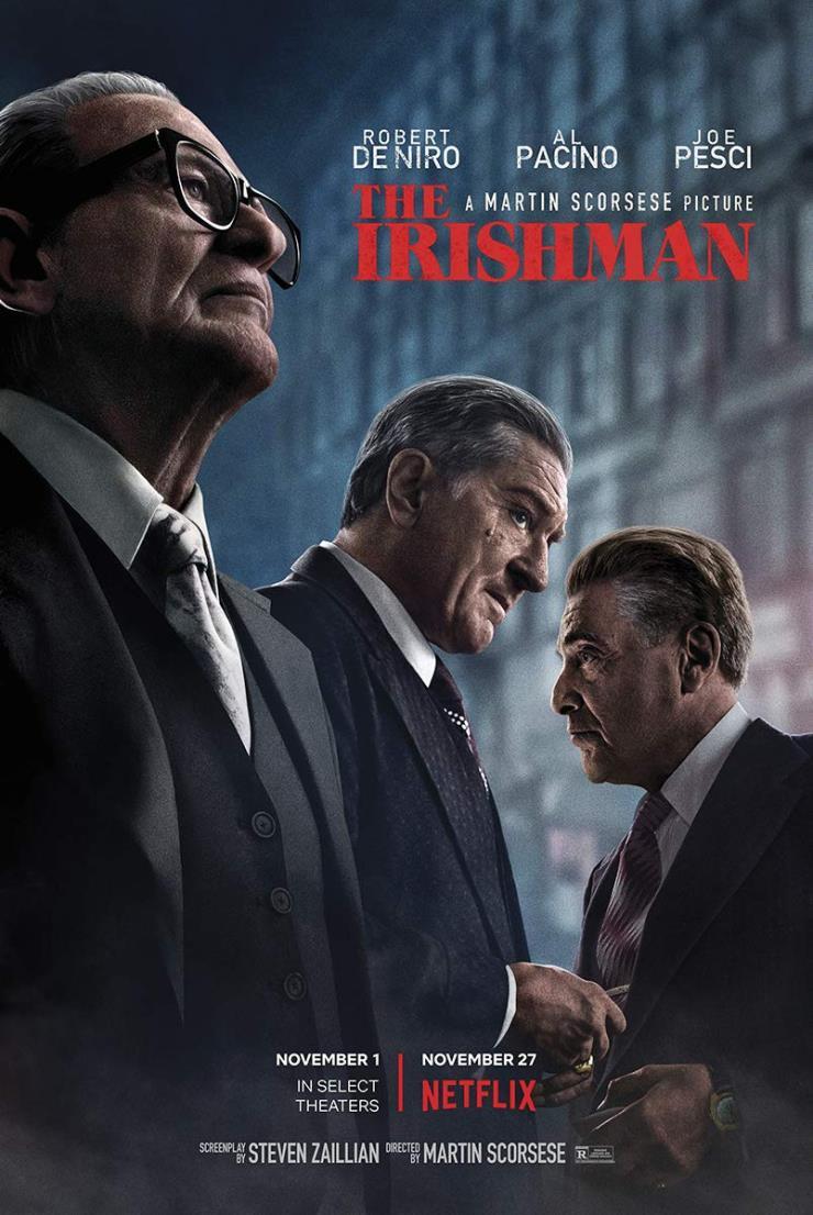 넷플릭스 영화, 〈아이리시 맨(The Irishman)〉의 포스터