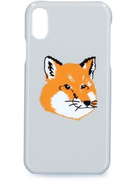 귀여운 여우 드로잉 폭스 아이폰 X 케이스 Maison Kitsune by 24s.com, €35 (한화 5만원대)
