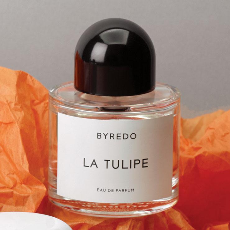 공기가 맑은 들판에 서 있는 느낌! 튤립과 프리지어, 나무 향이 어우러진 라 튤립, 19만8천원, Byredo.