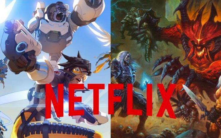 Netflix X Blizzard