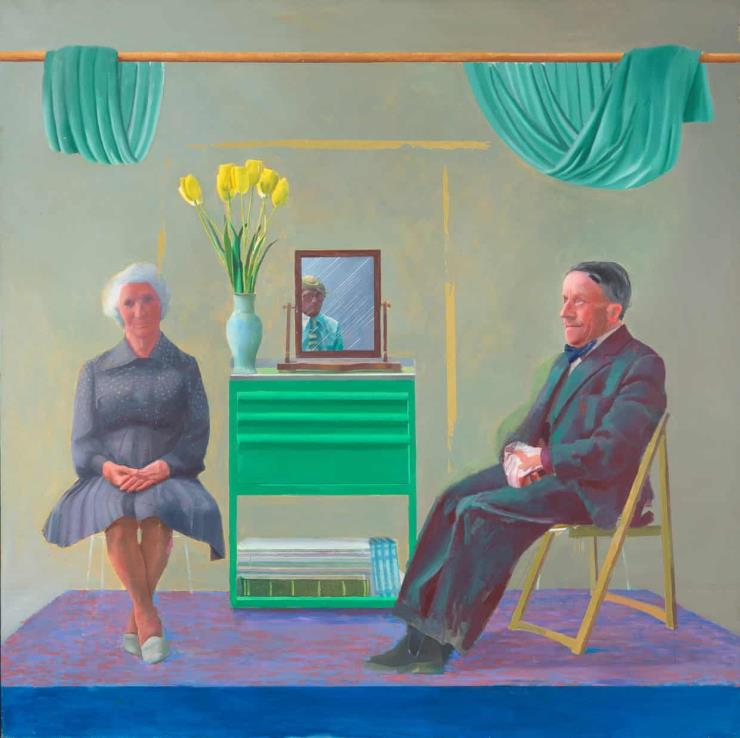 David Hockney_My Parents and Myself