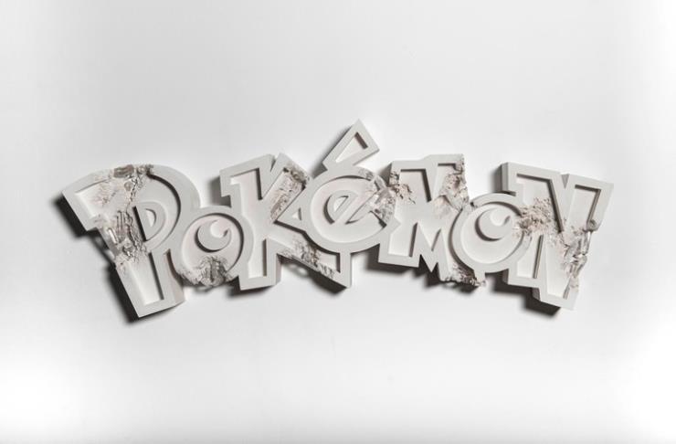 Daniel Arsham X Pokemon