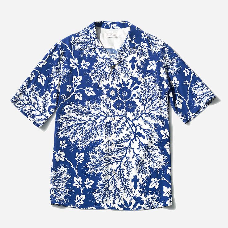 나뭇잎 패턴 셔츠 93만원대 알렉산더 맥퀸 by 미스터포터.