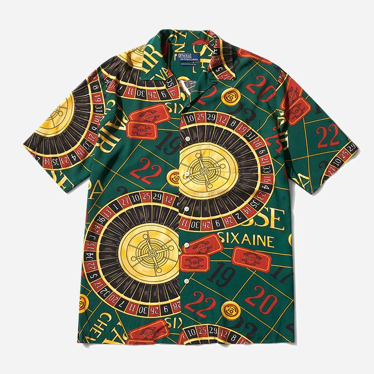 카지노 패턴 셔츠 23만원대 폴로 랄프 로렌.