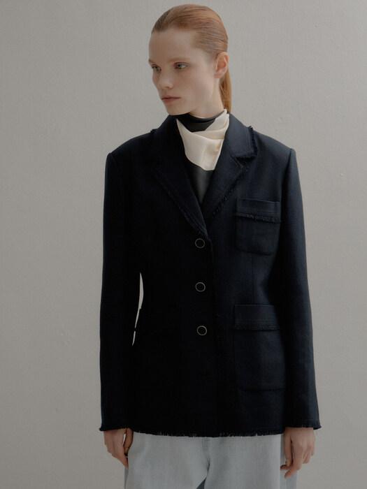 [Premium] Tweed Tailored Jacket