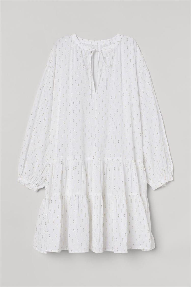 코튼 비치 드레스