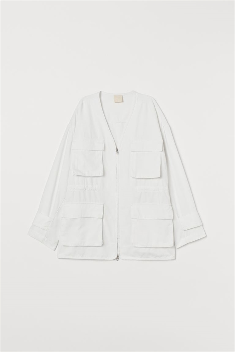 트윌 셔츠 재킷