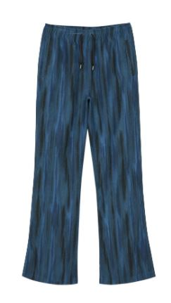 MOYALE STRIPE TRACK PANTS apa430w(BLUE)