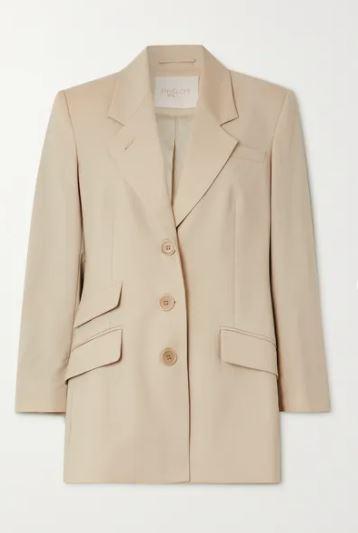 + NET SUSTAIN Marais oversized wool blazer