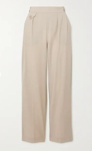 Marias wool tapered pants