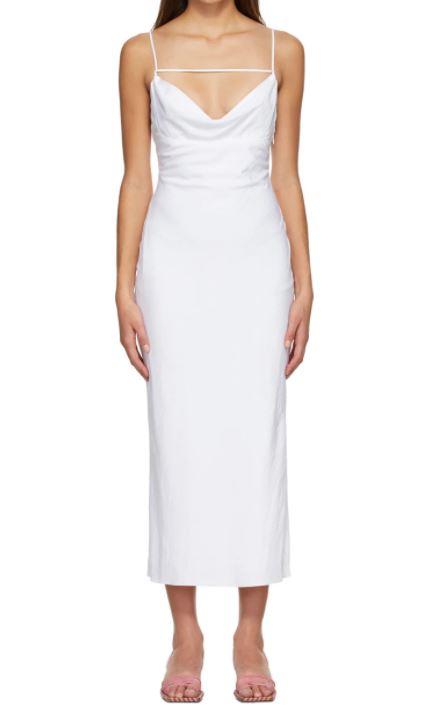 White 'La Robe Adour' Dress