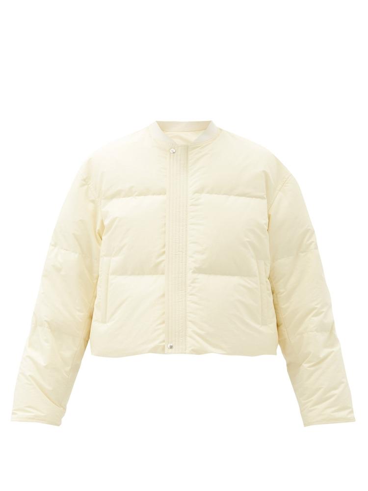 리버서블 방수 퀼팅 보머 재킷