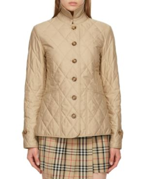 Beige Quilted Fernleigh Jacket