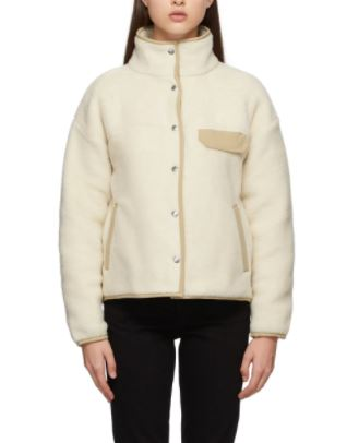 Beige Fleece Cragmont Jacket