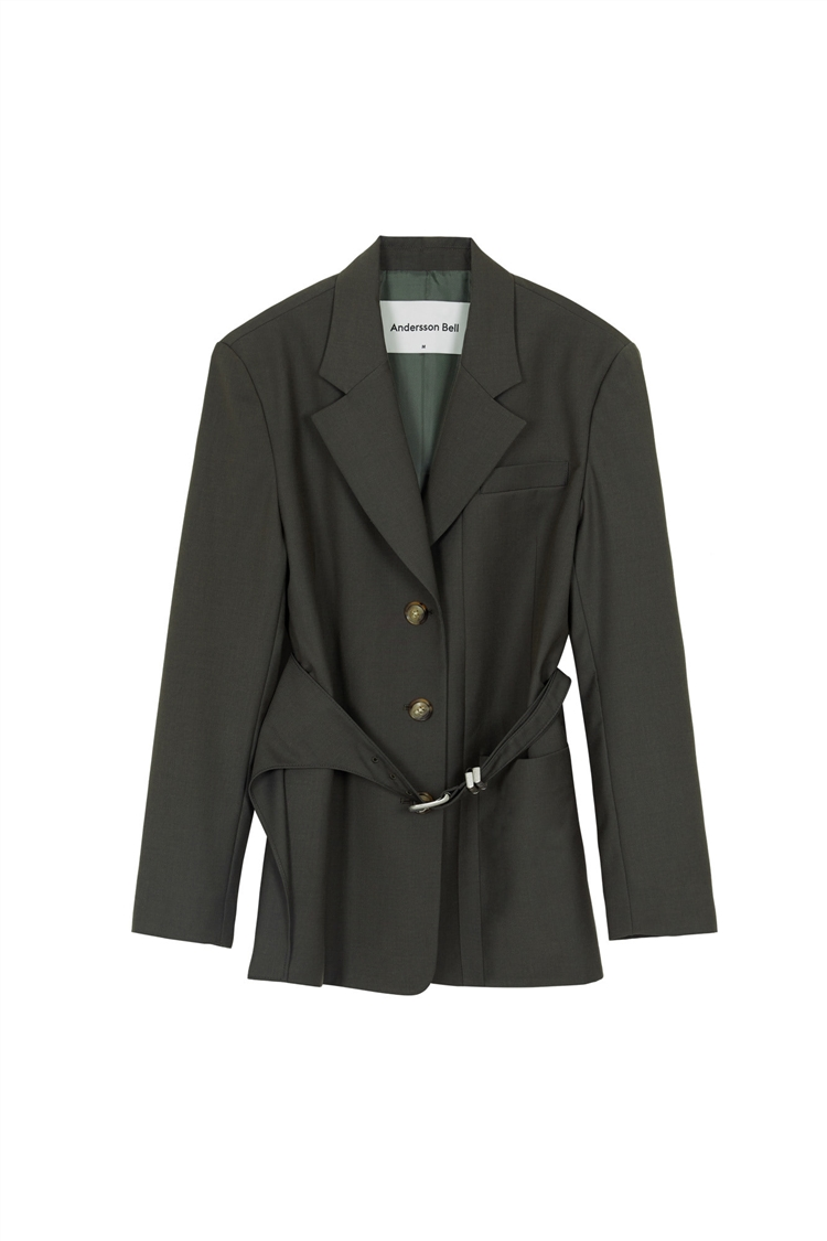DIEGO WESTERN BELT WRAP JACKET