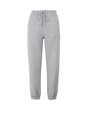 GREY QUILTED JOGGERS 홈웨어