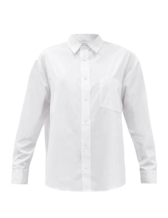 더 클래식 포켓 코튼 포플린 셔츠