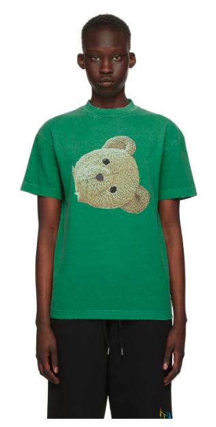 Green GD Bear Head Classic T-Shirt