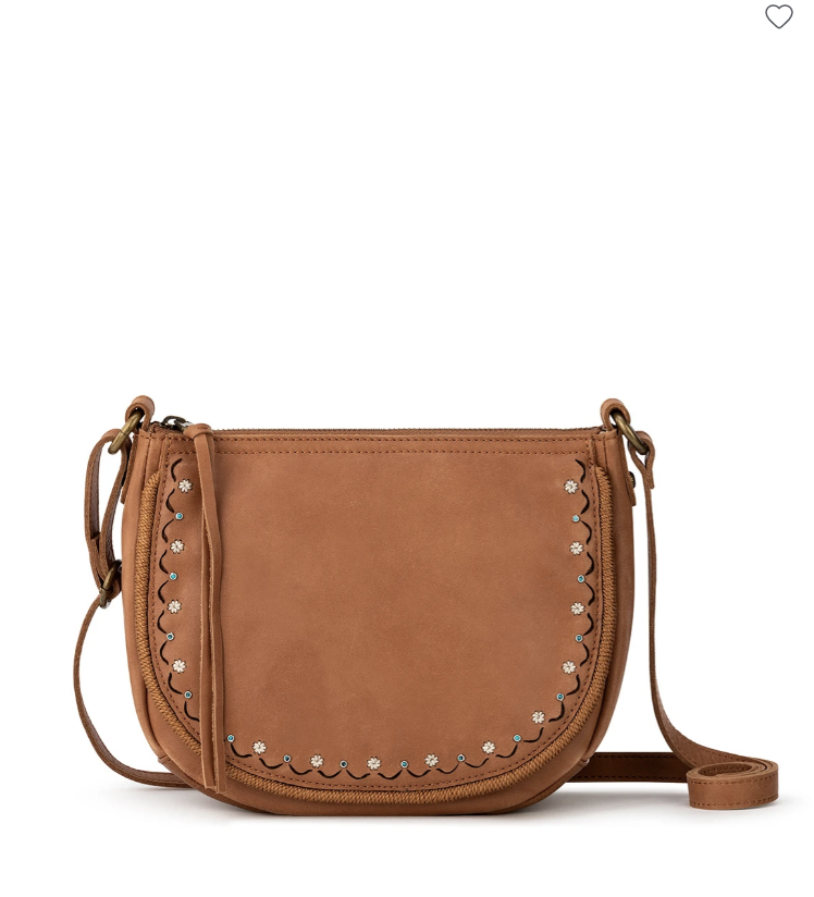 Sayulita Leather Saddle Bag